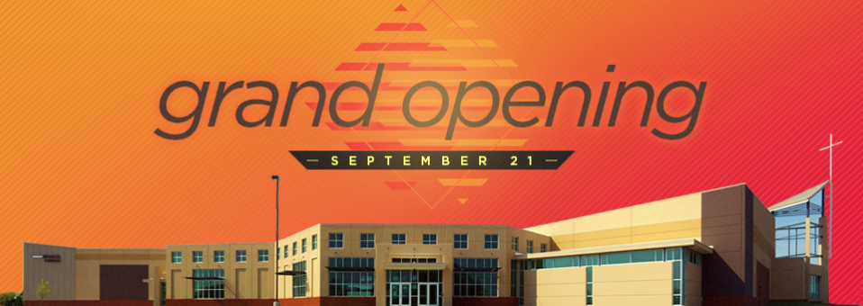 Grand Opening - Website Front Page