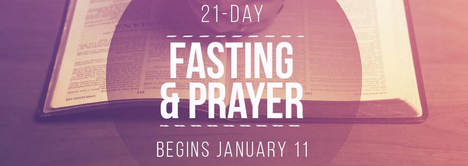 21-Day Fasting & Prayer