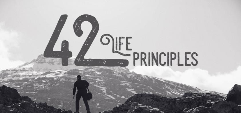 42 Life Principles