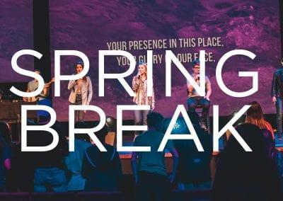 No Service – Spring Break
