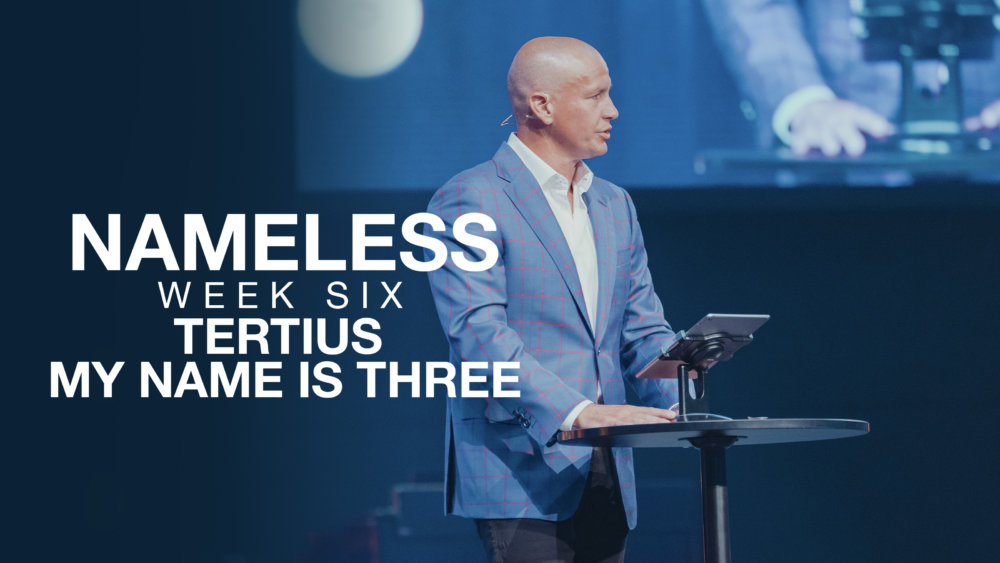 Nameless // Week Six - Tertius, My name is three  Image